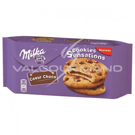 Cookies sensations Milka 182g - 10 paquets