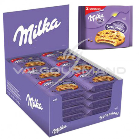 Cookies Sensations 52g Milka - 24 sachets