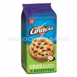 Cookies extra chocolat et noisettes Granola 184g - 10 paquets