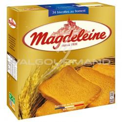 Magdeleine biscottes 34T au froment 300g - carton de 15 paquets en stock