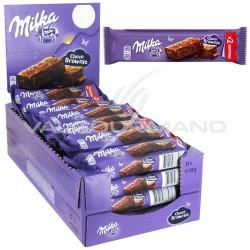 Barre brownie Milka 50g - le lot de 24