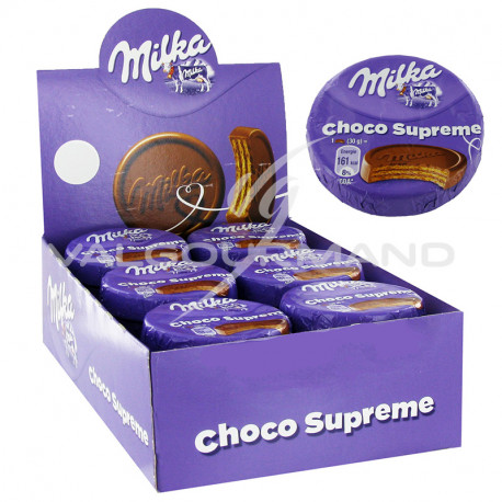 Choco suprême Milka 30g - boîte de 30