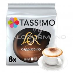 Tassimo L'Or Cappuccino 267g (8 dosettes + 8) - les 5 paquets