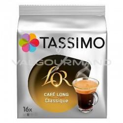 Tassimo l'Or Café Long classique 104g (16 dosettes) - les 5 paquets
