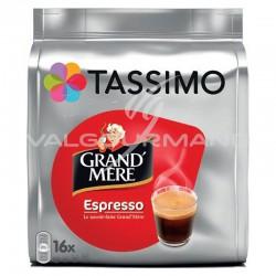 Tassimo Grand-Mère Espresso 104g (16 dosettes) - les 5 paquets