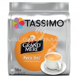Tassimo Grand-Mère Petit déj 132.8g (16 dosettes) - les 5 paquets