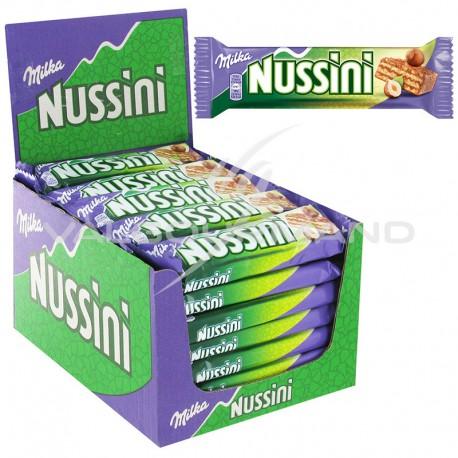 Nussini Milka 31,5g - la boîte de 35