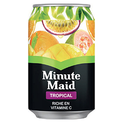 Minute Maid tropical 33cl - 24 canettes
