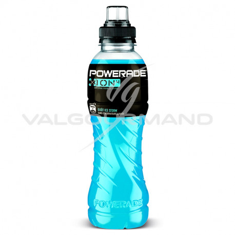 Powerade ice storm bleu Pet 50cl - 12 bouteilles