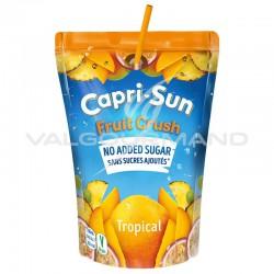 Capri-Sun Fruit Crush Tropical s/sucres ajoutés 20cl - 10 poches