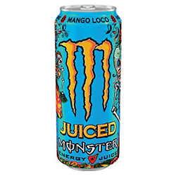 Monster Juiced Mango loco 50cl - 12 canettes