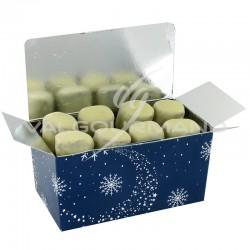 Bouchées praliné et chocolat blanc - ballotin de 250g en stock