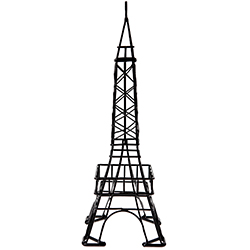 Tour Eiffel en métal NOIR - pièce