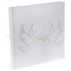 Livre d'or Colombes BLANC - pièce TOP PROMO
