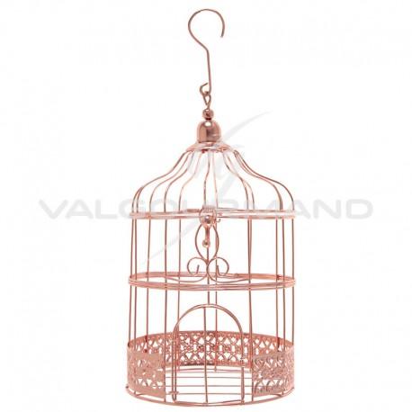 Cage en métal ROSE GOLD - pièce
