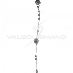 Guirlande de perles GRIS - la bobine TOP PROMO en stock