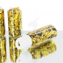 Paillettes en tube OR - pièce en stock
