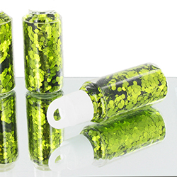 Paillettes en tube VERT - pièce en stock