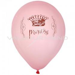 Ballons Princesse - 8 pièces