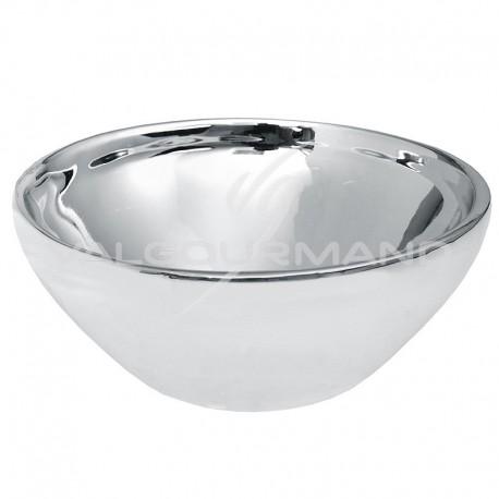 Coupelle métallisée ARGENT - pièce