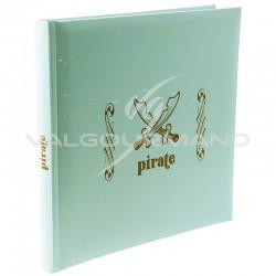 Livre d'or Pirate VERT - pièce en stock