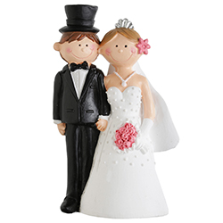 Figurine Mr Mrs GM H. 15cm - pièce