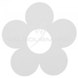 Fleurs déco BLANC - 10 pièces