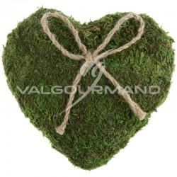 Coussin Coeur en mousse - pièce