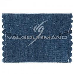 Pochette Jeans en coton - 4 pièces