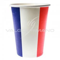 Gobelets drapeau bleu blanc rouge France - 10 pièces en stock