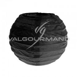 Lanternes papier S NOIR - 2 pièces en stock