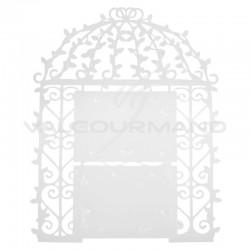 Plan de table Cage BLANC - pièce en stock