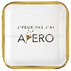 Assiettes APERO Party - 10 pièces