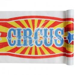 Chemin de table thème Cirque - pièce