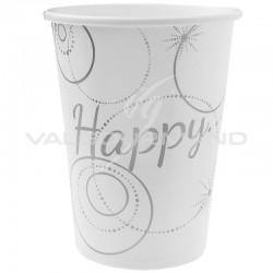 Gobelets Happy - 10 pièces