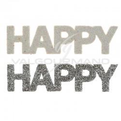 Confettis paillletés Happy par 6