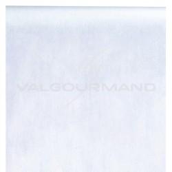 Chemin de table Intissé 30CM x 10M BLANC - pièce TOP PROMO
