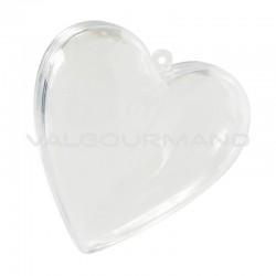 Coeurs en plexiglass 6,5 CM - 20 pièces
