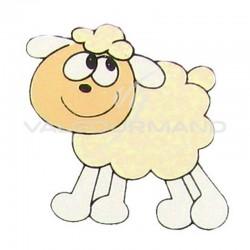 Moutons Déco autocollante - 6 pièces