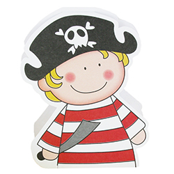 Ballotins GM Jack le pirate - 25 pièces en stock