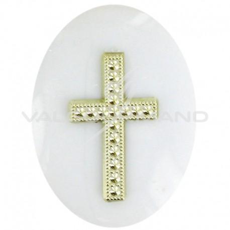 Croix OR à coller - 12 pièces