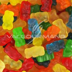 Mini oursons gélifiés lisses - 1kg
