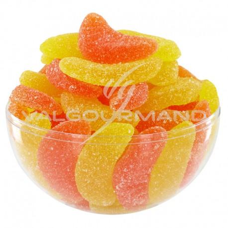 Quartiers oranges et citrons sucrés - 1kg