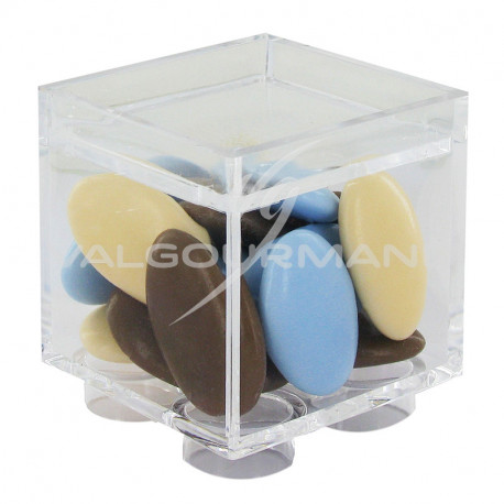 Boîtes cube LEGO en plexiglass - 14 pièces **1 LOT**