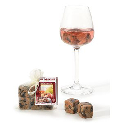 Lot de 6 glaçons - On the rocks GRANIT ROSE de Bretagne en stock