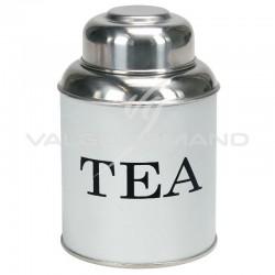 Boîte à thé - tea Contento BLANC en stock