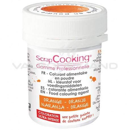 Colorant alimentaire en poudre 5g Scrapcooking ORANGE