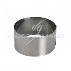 Cercle à mousse 7cm Lacor INOX en stock