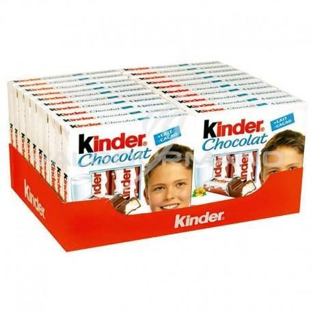 Kinder tablettes par 4 - boîte de 20