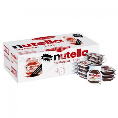 Nutella barquettes 15g - boîte de 120